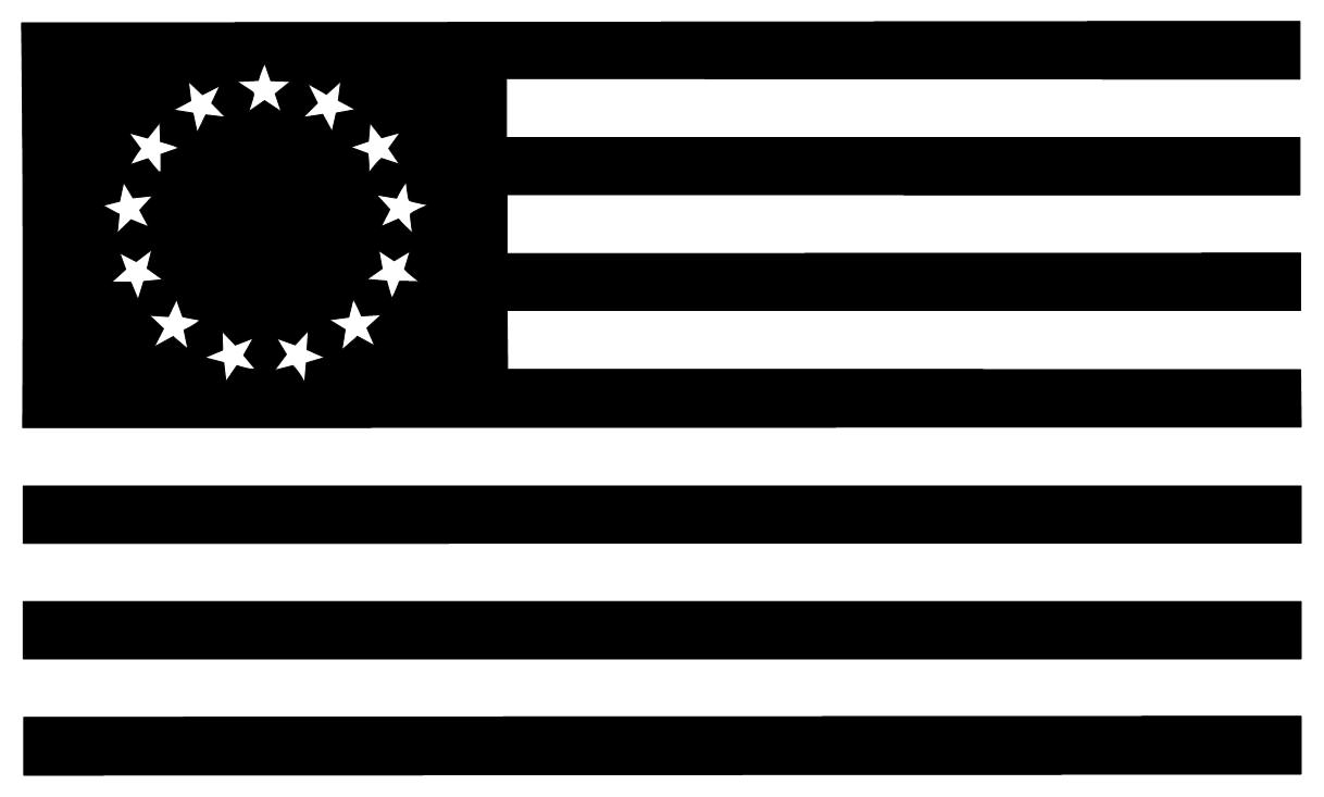 star flag american decal stars designs decals