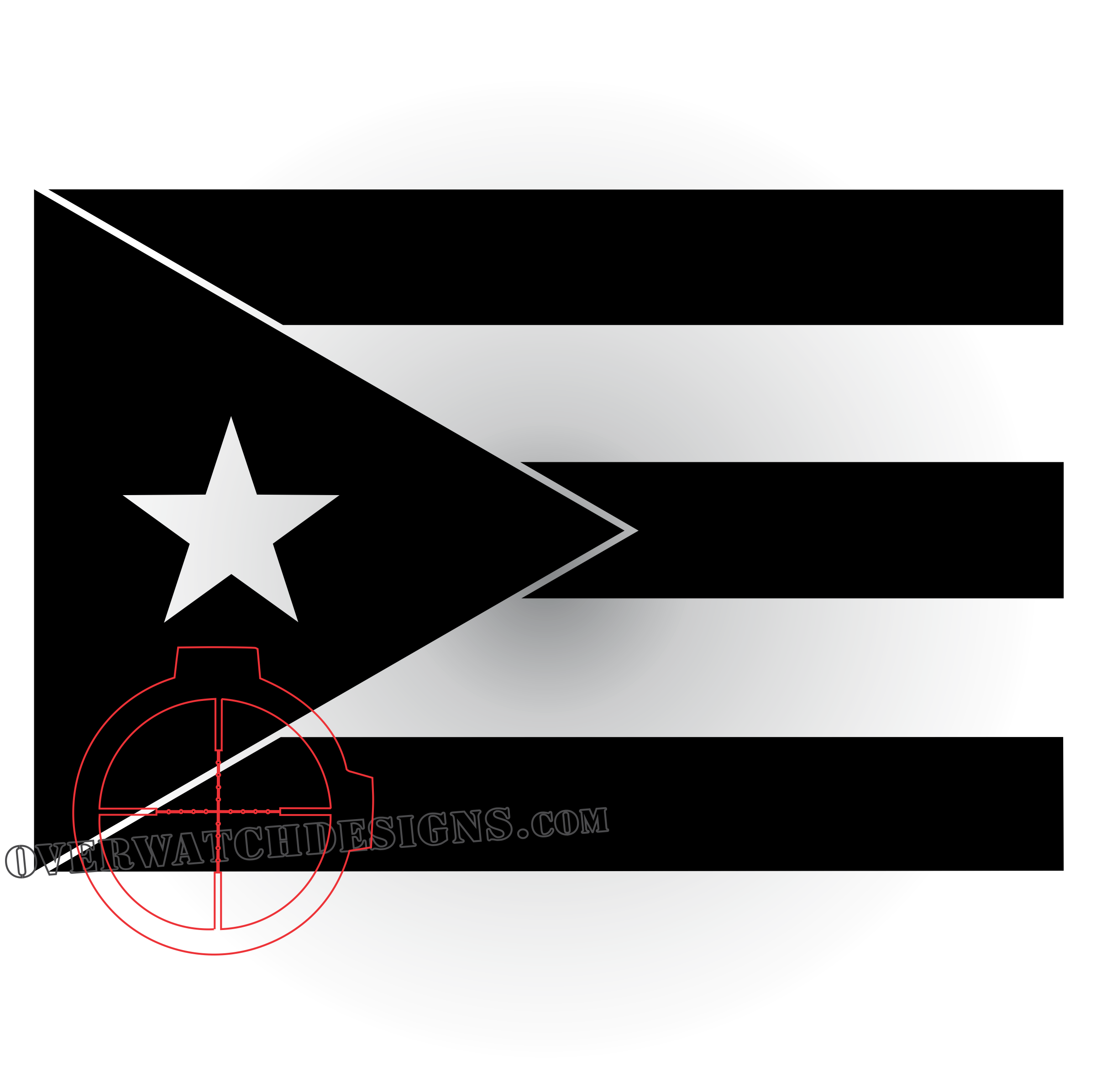 puerto rico flag decal overwatch designs
