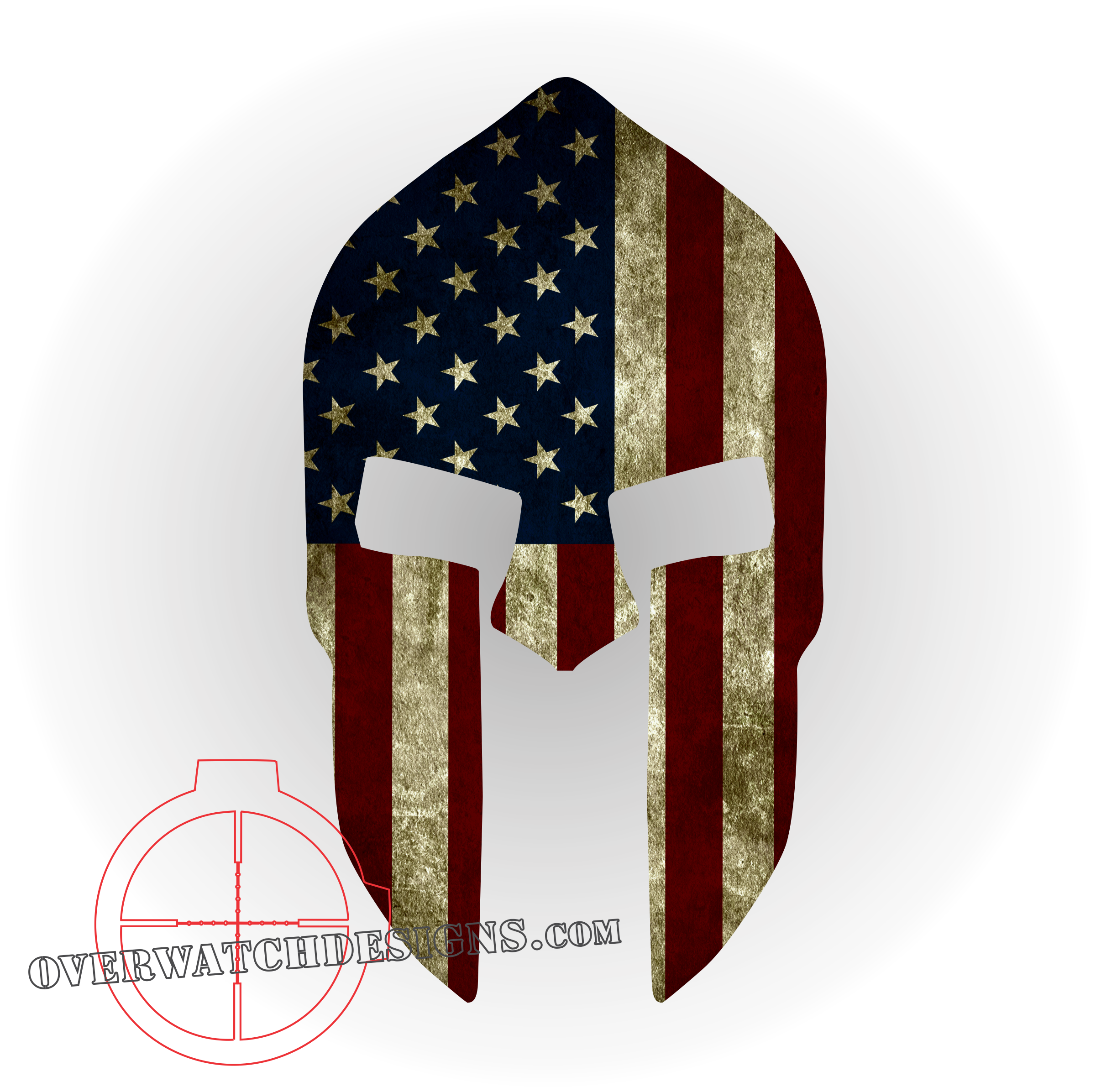 SPARTAN Tactical Flag LEO Military Decal Sticker Graphic choose your size