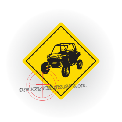 decals, stickers, streetsigns, signs, danger, rifle, custom